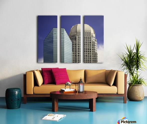 Two Giants Split Canvas print