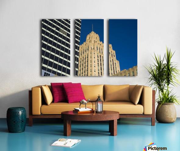 City Towers Split Canvas print
