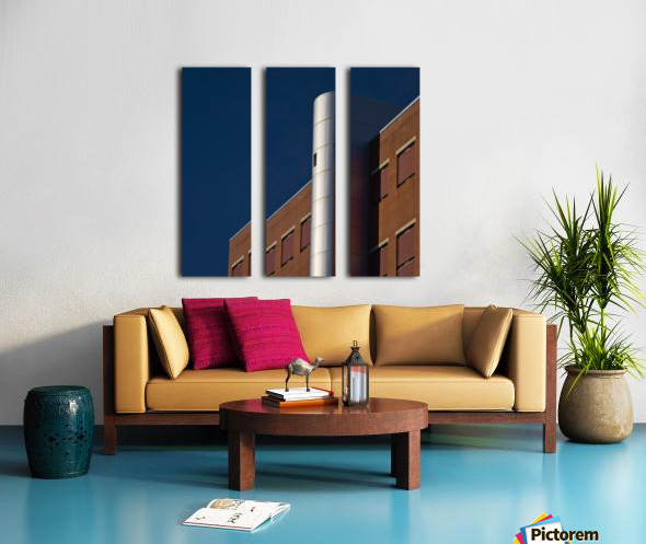 Forsyth Detention 2 Split Canvas print