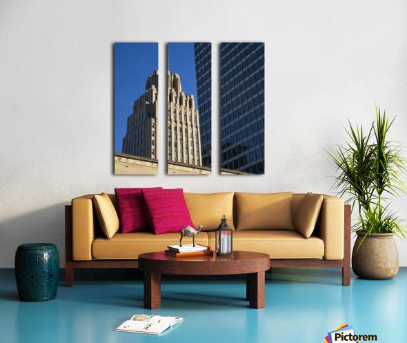 Winston Skyscrapers Split Canvas print
