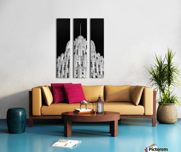 RJR Tower Split Canvas print