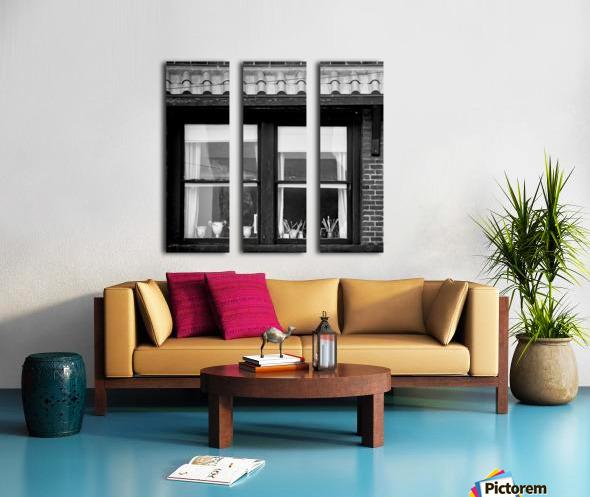 Artist Flat Split Canvas print