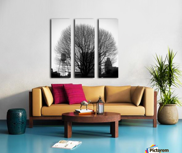 City Tree Split Canvas print