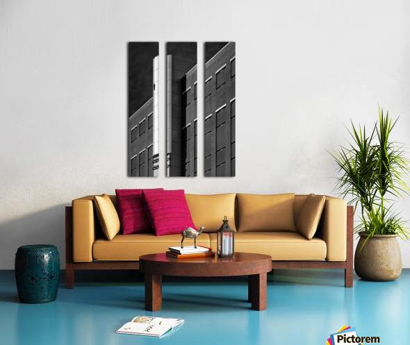 Detention Split Canvas print
