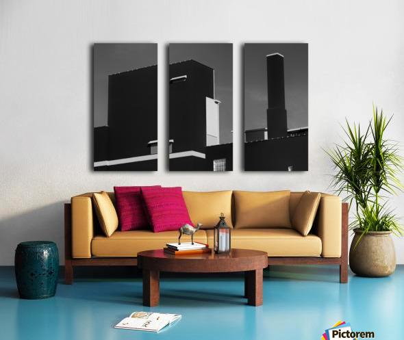 The Loewy Split Canvas print