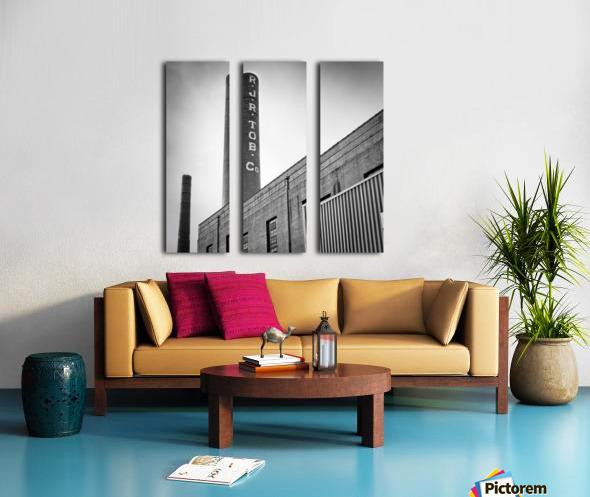 Tobacco Power 3 Split Canvas print