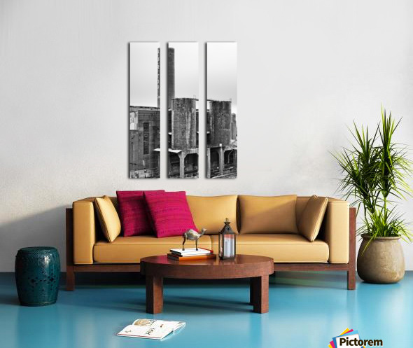 Tobacco Power 4 Split Canvas print