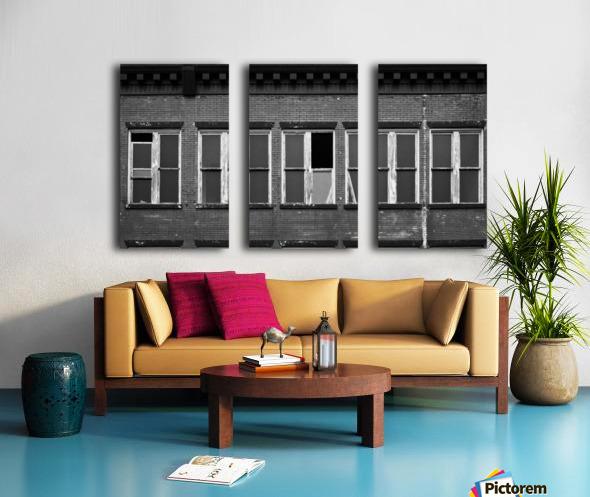 Winston Windows Split Canvas print