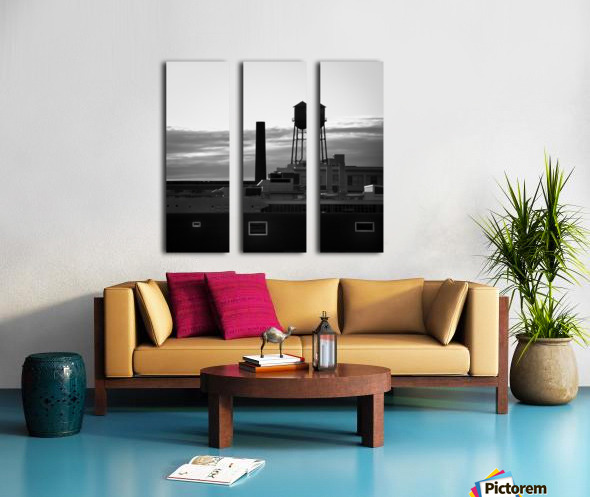 City Rooftops Split Canvas print