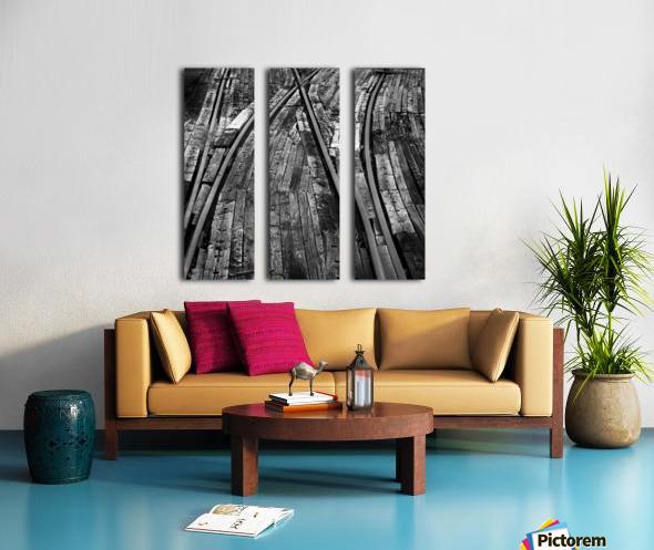 Bailey Tracks Split Canvas print