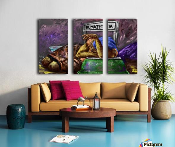 kayayo Split Canvas print