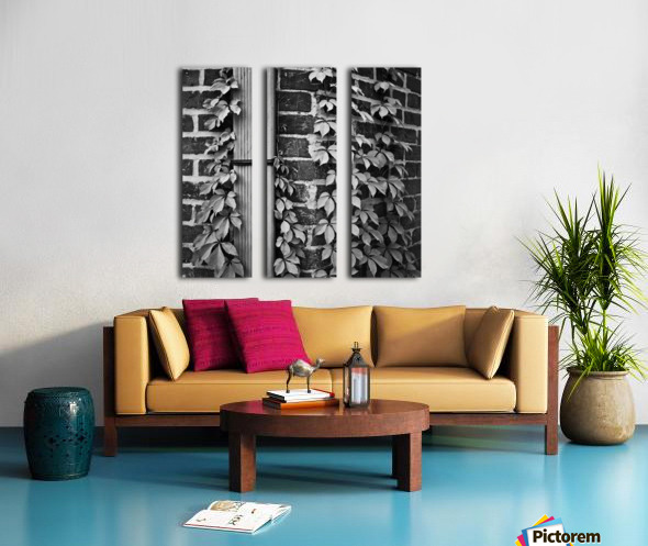 Winston Salem 79 Split Canvas print