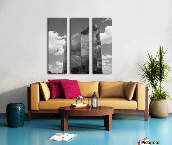Winston Salem 83 Split Canvas print