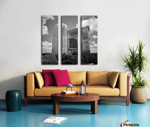 Winston Salem 85 Split Canvas print
