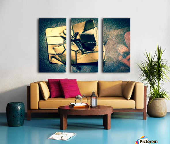 Abstract 029 Split Canvas print