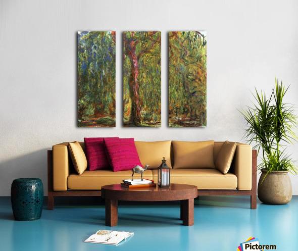 The Willow Split Canvas print