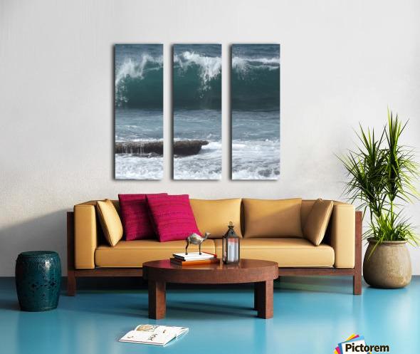 Breaking Wave Split Canvas print