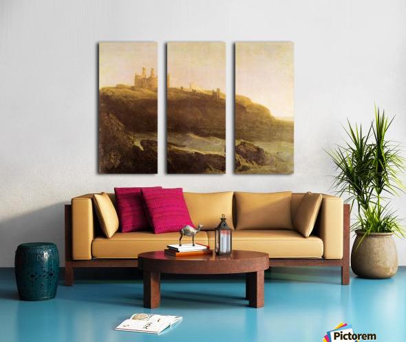 Dunstanborough Castle by Joseph Mallord Turner Split Canvas print