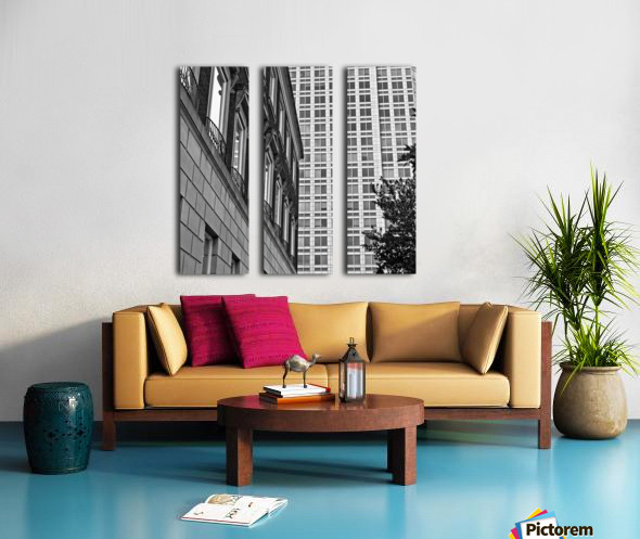 Winston Salem 90 Split Canvas print