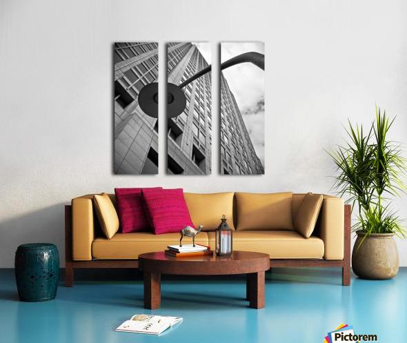 Winston Salem 91 Split Canvas print