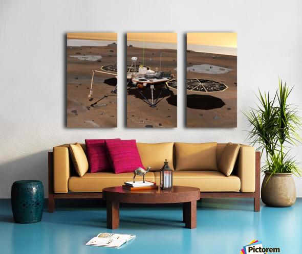 Phoenix Mars Lander Split Canvas print