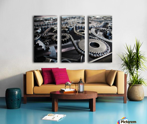 Cam chain Split Canvas print