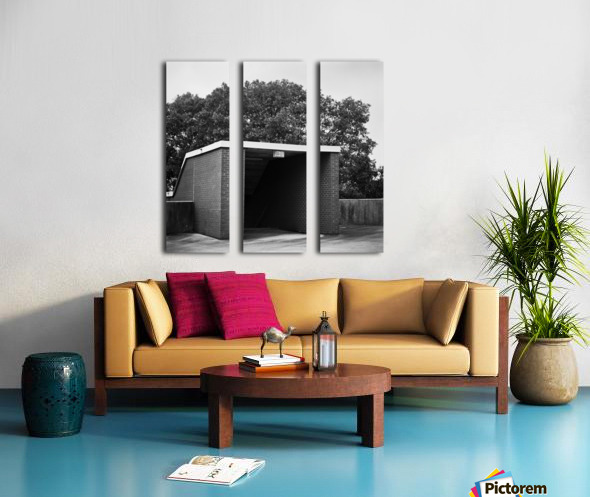 Winston Salem 95 Split Canvas print