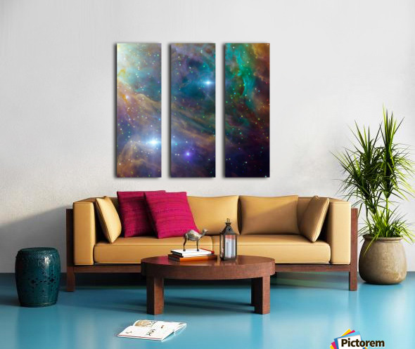 Deep Space Split Canvas print