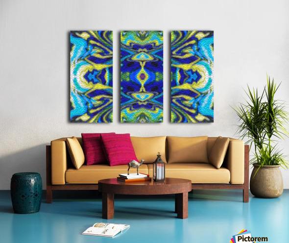 IkeWads032 Split Canvas print