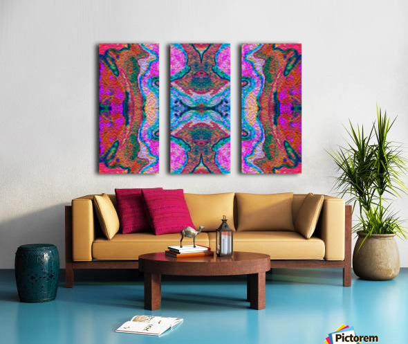 IkeWads043 Split Canvas print