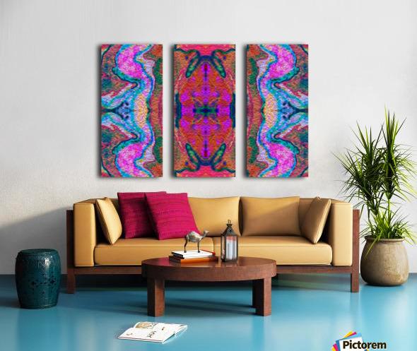 IkeWads044 Split Canvas print
