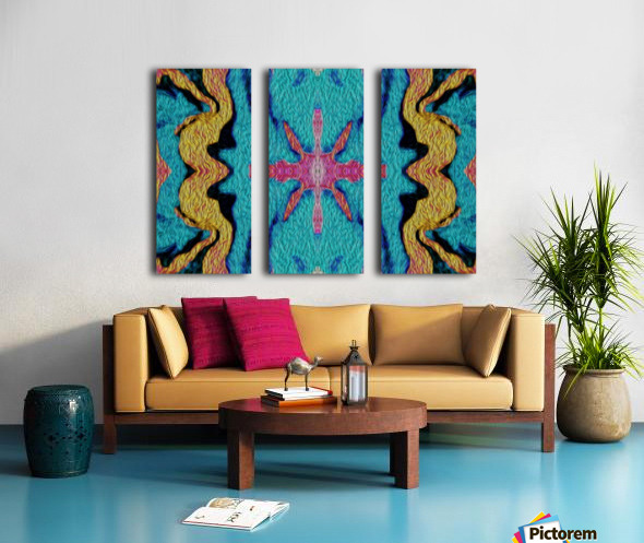 IkeWads085 Split Canvas print