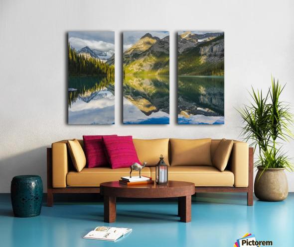 Upper elk lake  Split Canvas print