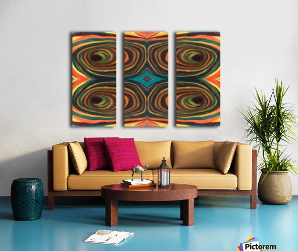 IkeWads151 Split Canvas print