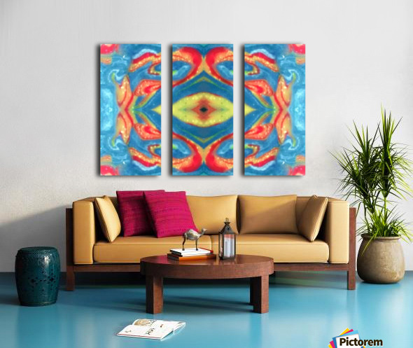 IkeWads137 Split Canvas print