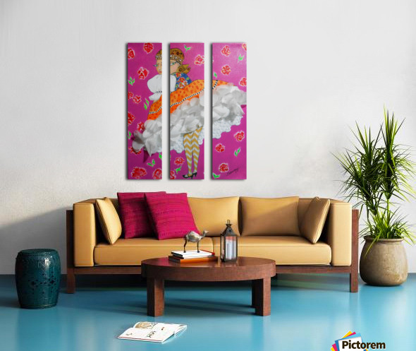 CZÁRDÁS Split Canvas print