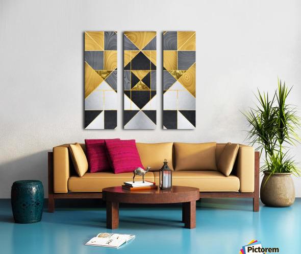 Geometric XXIV Split Canvas print