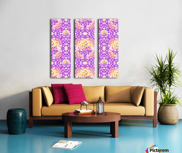 Abstract Pattern Split Canvas print