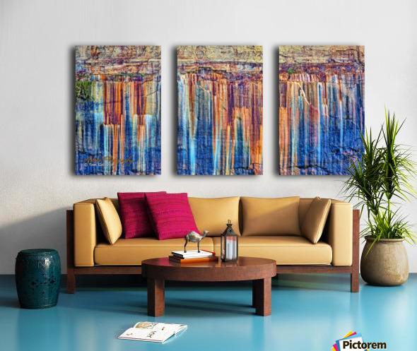 Painted Coves - APC-334 Split Canvas print