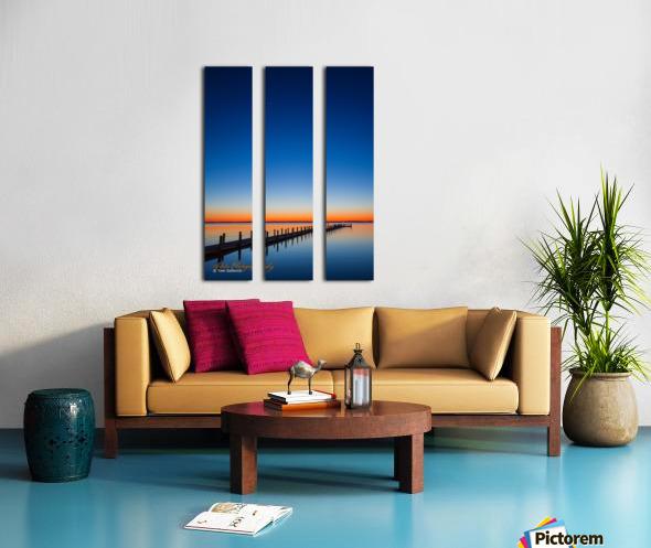 Sunset - APC-129 Split Canvas print