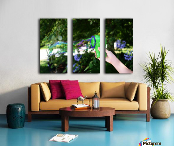 Frozen in Time Split Canvas print