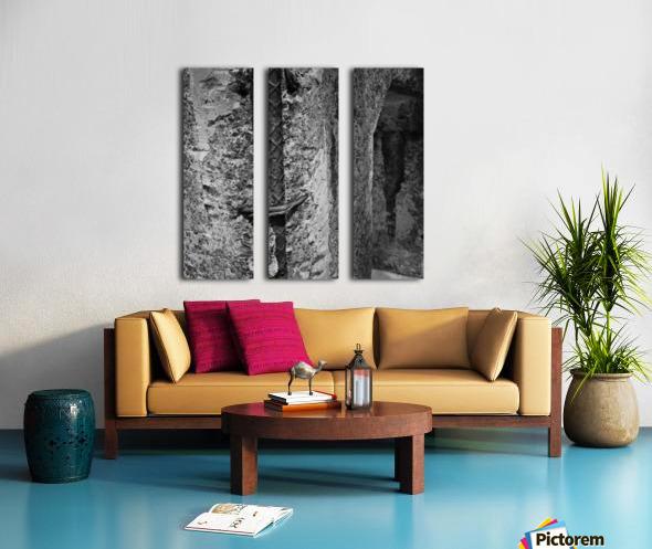 Winston Salem 100 Split Canvas print