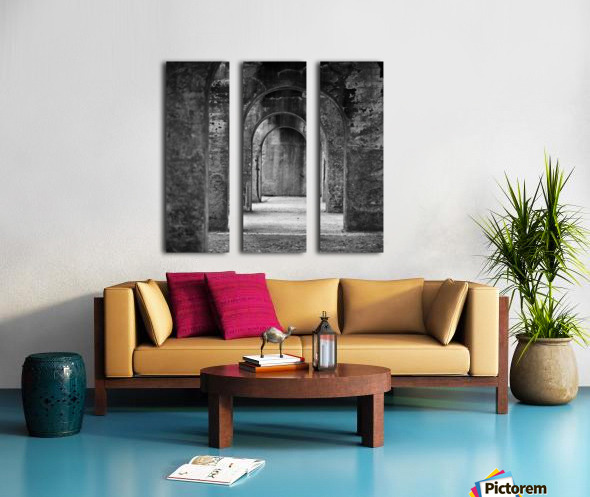 Winston Salem 99 Split Canvas print