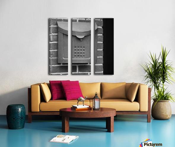 Winston Salem 103 Split Canvas print