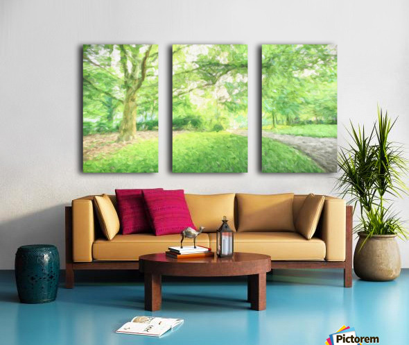Park View Split Canvas print