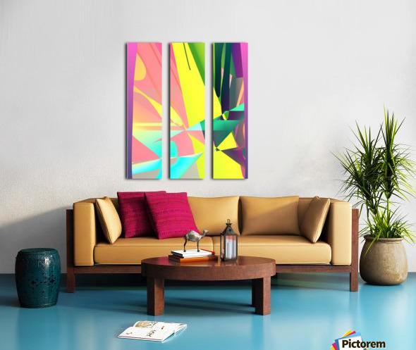 reach out 82818 H Split Canvas print