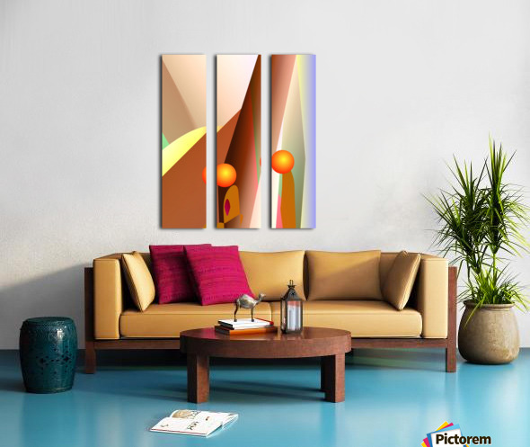 secret talk  82818 H Split Canvas print