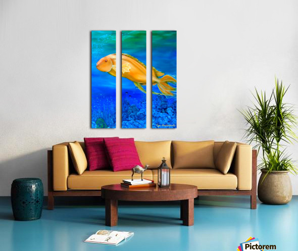 Undersea Journey Split Canvas print