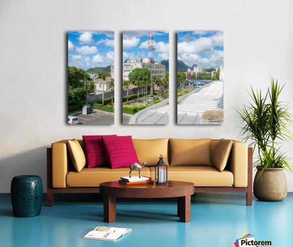 1 45 Split Canvas print