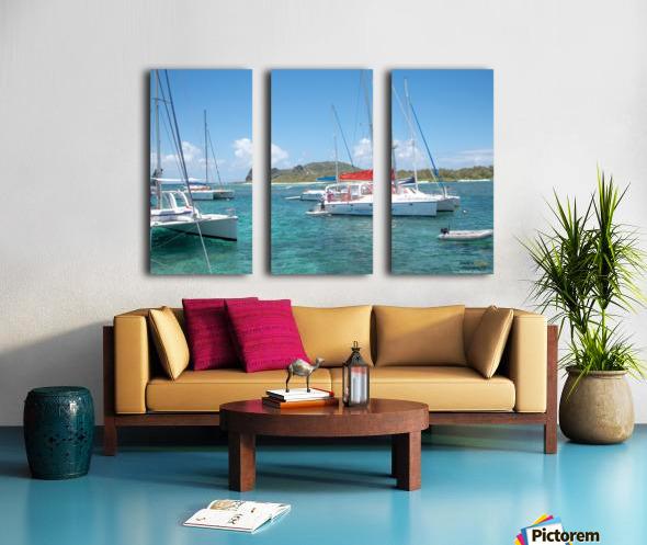 1 66 Split Canvas print
